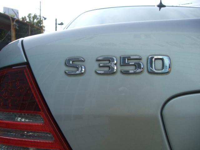 W220・V6・S350後期タイプ。トラブルが少なくメルセデスファン必見の特選グレードです☆