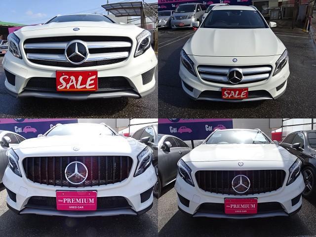 GLA180 スポーツ AMG18インチAW ハーフレザー ディーラー整備車 パワーバックドア(9枚目)