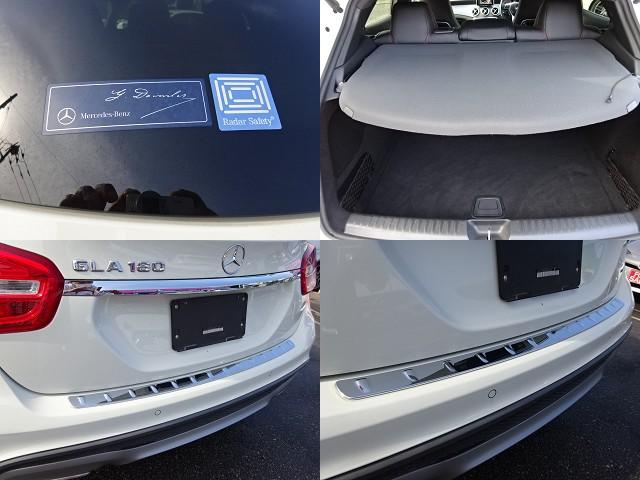 GLA180 スポーツ AMG18インチAW ハーフレザー ディーラー整備車 パワーバックドア(47枚目)