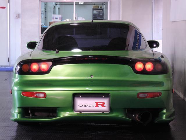 マツダ RX-7 タイプRS 社外マフラー HKSエアークリーナー