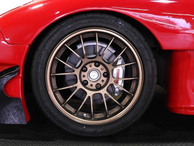 マツダ RX-7 タイプRS RE雨宮ワイドボディ 社外マフラー RAYS