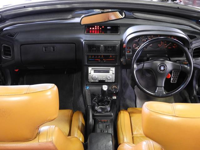 マツダ サバンナRX-7 カブリオレ エンジンOH済み 皮シート MSマフラー
