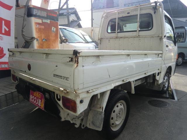 スバル サンバートラック TC パワステ 4WD エアコン付き