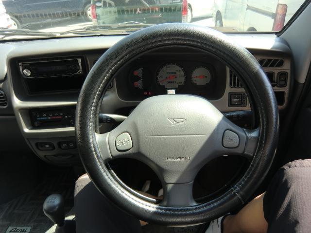 ダイハツ アトレーワゴン カスタムターボ 5速マニュアル CD キーレス付き