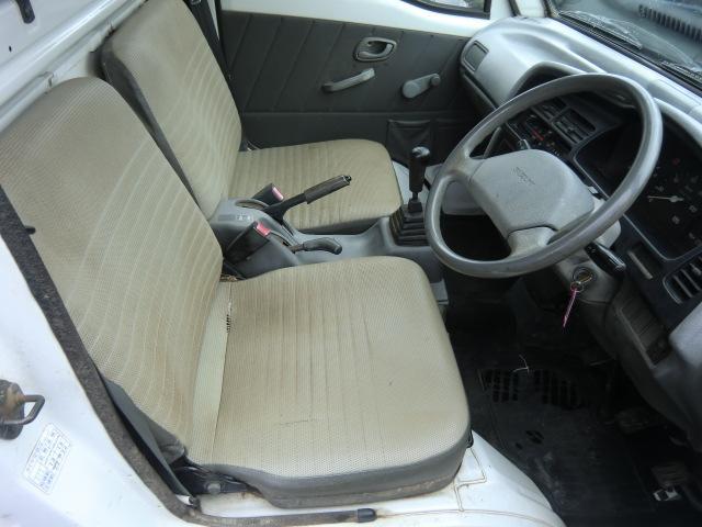 スズキ キャリイトラック KU 幌車 4WD 5速マニュアル