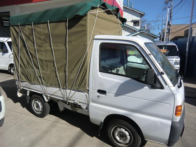 KC ホロ車 5速マニュアル ETC付き(4枚目)