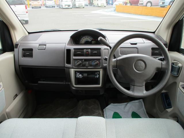 三菱 eKワゴン M キーレス 電格ミラー CDデッキ Wエアバッグ