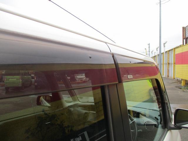 カスタムVセレクションターボ スマートキー ナビ地デジDVD オートエアコン左側パワースライドドア HIDライト ターボ ETC セキュリティ バイザー 禁煙車(39枚目)