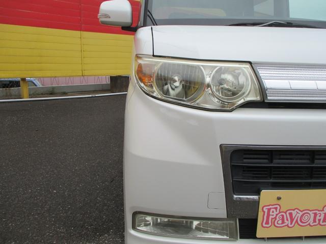 カスタムVセレクションターボ スマートキー ナビ地デジDVD オートエアコン左側パワースライドドア HIDライト ターボ ETC セキュリティ バイザー 禁煙車(43枚目)