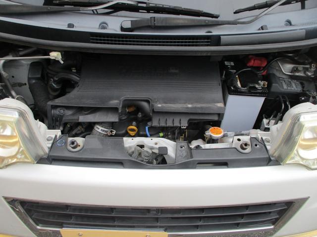 カスタムVセレクションターボ スマートキー ナビ地デジDVD オートエアコン左側パワースライドドア HIDライト ターボ ETC セキュリティ バイザー 禁煙車(47枚目)