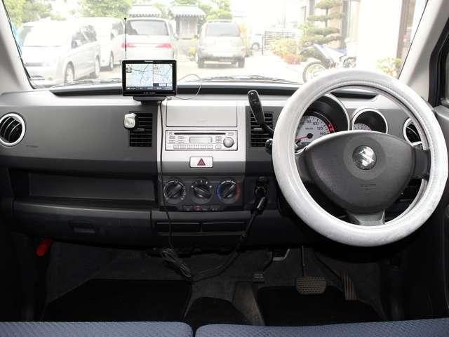 スズキ ワゴンR FT ポータブルメモリーナビ ワンセグ CD キーレス