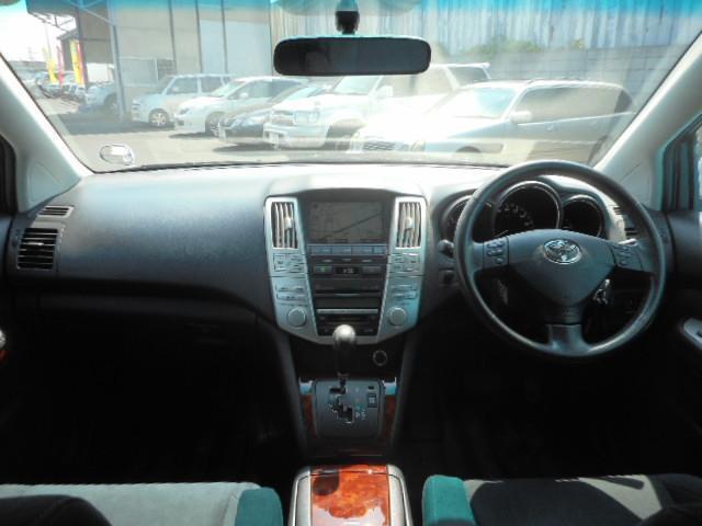 トヨタ ハリアー 240G Lパケプライムセレ アルカンターラ Pバックドア