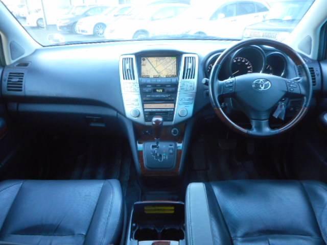 トヨタ ハリアー 240G プレミアムLパッケージ HDDナビ レザーシート