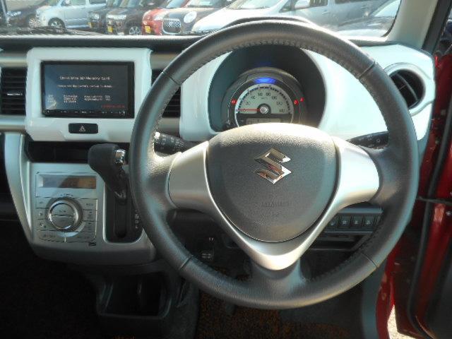 スズキ ハスラー Xターボ1オーナー地デジナビi-stopシートヒーターETC