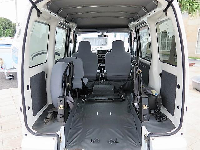 ダイハツ ハイゼットカーゴ 福祉車輌 スローパー 切替式4WD