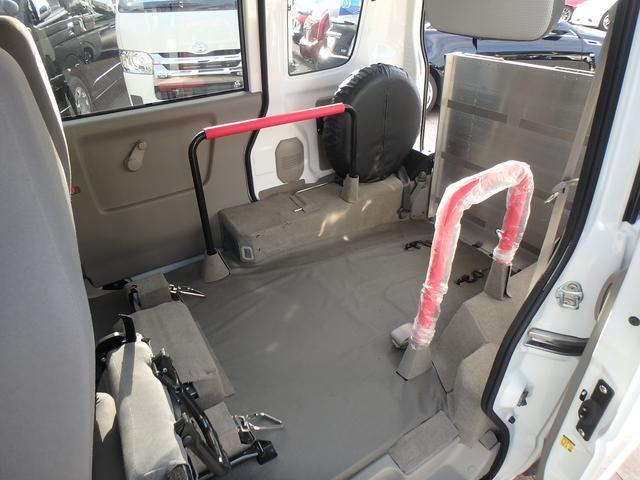 スズキ エブリイワゴン 福祉車輌 スロープ 補助席 4人乗り