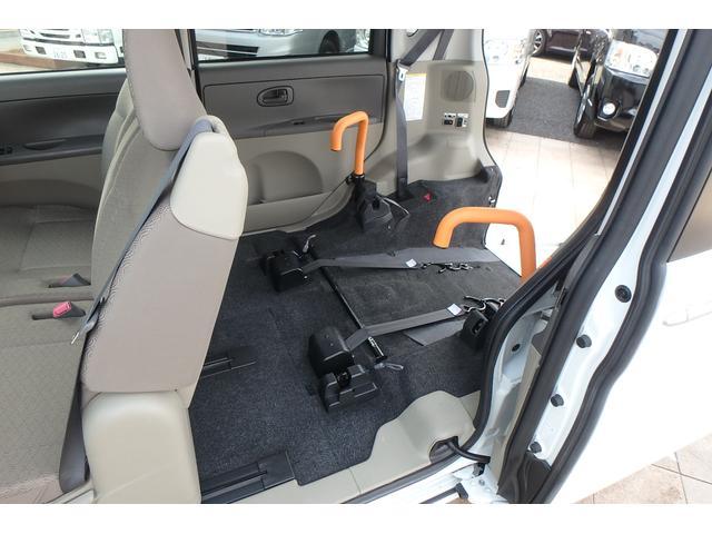 ダイハツ タント 福祉車輌 スローパー 電動固定装置 後退防止ベルト