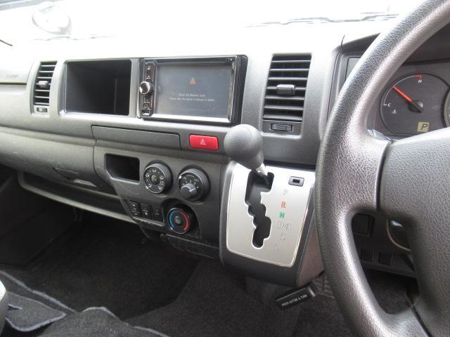 福祉車両 ウェルキャブ リアリフト 9人車いす4基固定 電動固定装置 電動ステップ SDナビ バックカメラ キーレス(14枚目)