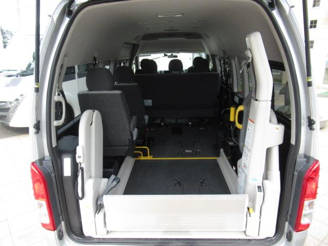 福祉車両 ウェルキャブ リアリフト 9人車いす4基固定 電動固定装置 電動ステップ SDナビ バックカメラ キーレス(37枚目)