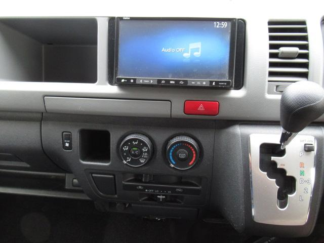 福祉車輌 ウェルキャブ リアリフト Dタイプ 車いす4基 9人乗り 電動ステップ 車いす電動固定装置 クラリオンSDナビ バックカメラ ワンセグ 純正イモビライザー(19枚目)