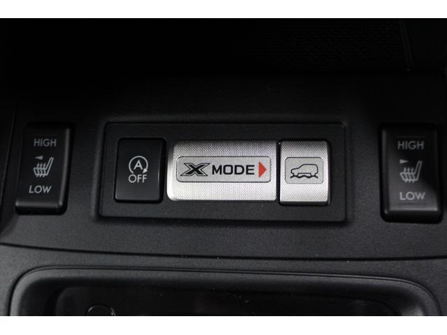 悪路に強いXモード。アイドリングストップ、シートヒーターも付いています。
