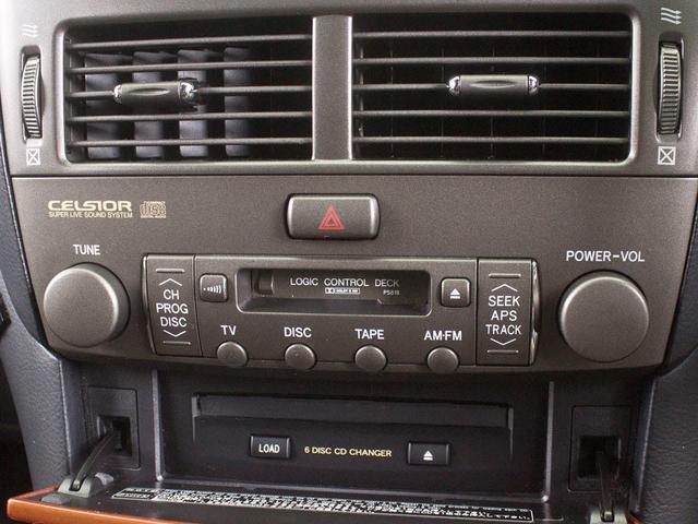 トヨタ セルシオ C仕様 インテリアSC 後期型 サンルーフ 黒革 クリソナ