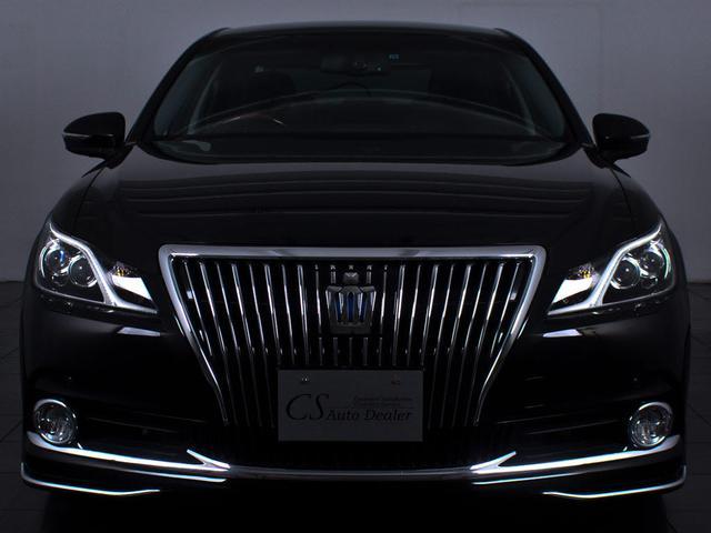 トヨタ クラウンマジェスタ Fバージョン 本革 レーダーC クリソナ LEDヘッドライト