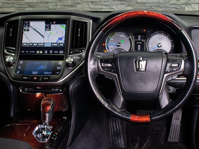 Fバージョン 後期型 禁煙車 黒本革 SDマルチ プリクラッシュセーフティ レーダークルーズコントロール BSM クリアランスソナー フルセグ Bluetooth エアシート 後席VIP(15枚目)