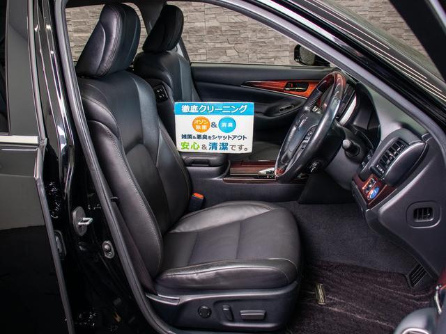 Fバージョン 後期型 禁煙車 黒本革 SDマルチ プリクラッシュセーフティ レーダークルーズコントロール BSM クリアランスソナー フルセグ Bluetooth エアシート 後席VIP(16枚目)