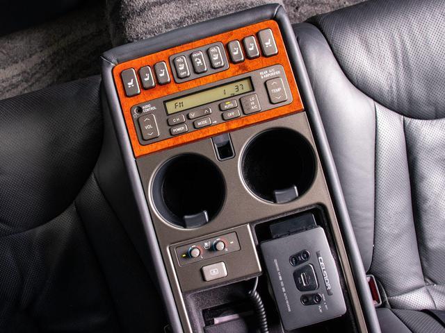 後期型 黒本革シート サンルーフ 禁煙車 タイミングベルト交換済み クルーズコントロール シートヒーター エアシート パワーシート バックカメラ イモビ ABS(4枚目)