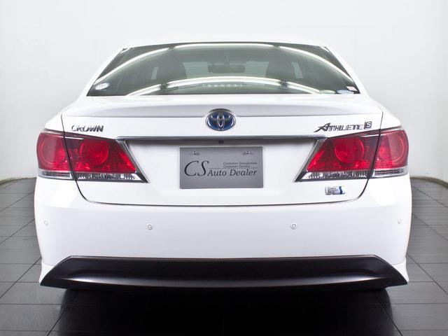 トヨタ クラウンハイブリッド 2.5HVアスリートS 1オーナー 新品本革 新品20AW