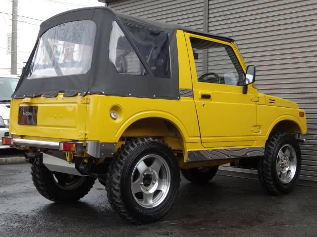 スズキ ジムニー 幌タイプ ツインカムエンジン インタークーラーターボ 改