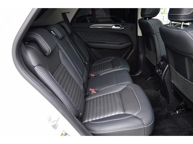 GLE350d 4マチックスポーツ 1オーナー 黒本革 パノラミックスライディングルーフ ダイヤモンドホワイト 自動駐車 純HDDナビTV PTS ETC LED キーレスゴー レーダーセーフティ(17枚目)