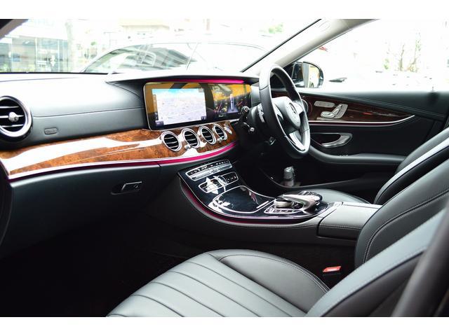 E400 4マチックステーションワゴンエクスクルシブ 新車保証継承 エアバランスPKG ヘッドアップディスプレイ 黒本革 フットトランクオープナー エアサス 4マチック 純HDDナビTV レーダーセーフティ(18枚目)