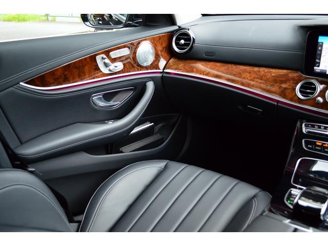 E400 4マチックステーションワゴンエクスクルシブ 新車保証継承 エアバランスPKG ヘッドアップディスプレイ 黒本革 フットトランクオープナー エアサス 4マチック 純HDDナビTV レーダーセーフティ(25枚目)