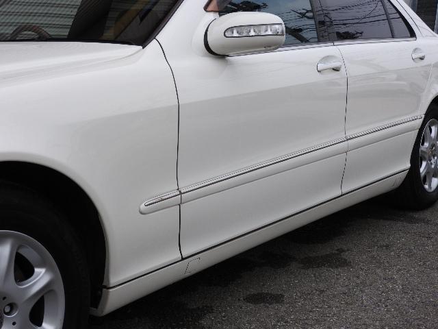 メルセデス・ベンツ M・ベンツ S500L 右ハンドル 後期型5AT  本革シートヒーター