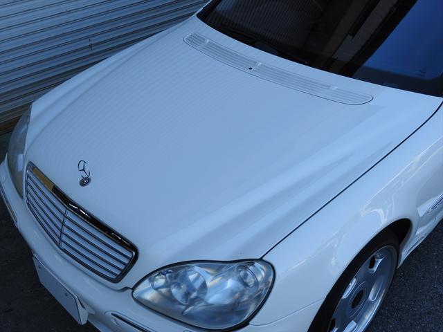 メルセデス・ベンツ M・ベンツ 右S500L社外HDD地デジナビETC社外エアロ19AW黒革