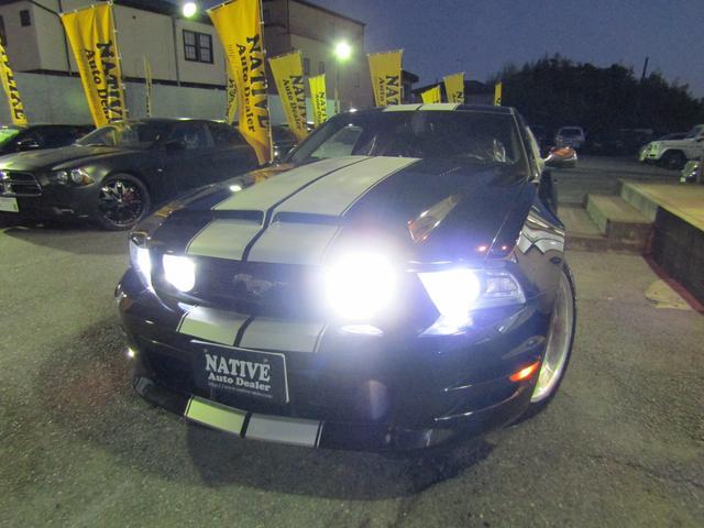V6 プレミアム GT500スタイリング WORK LS20in メモリーナビ地デジ ETC バックカメラ VIPERセキュリティー レーシングストライプ(4枚目)