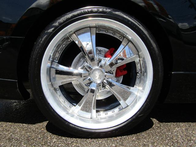 V6 プレミアム GT500スタイリング WORK LS20in メモリーナビ地デジ ETC バックカメラ VIPERセキュリティー レーシングストライプ(6枚目)