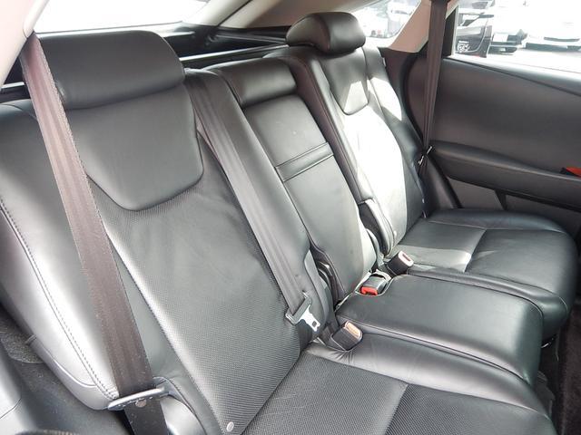 レクサス RX RX450h バージョンL セミアニリン 22インチAW