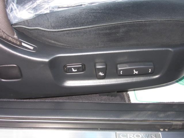 全席パワーシート(運転席/助手席パワーシート・後席電動リクライニング機構)