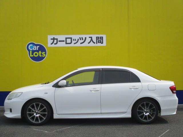 トヨタ カローラアクシオ GT TRDターボ 5速マニュアル車