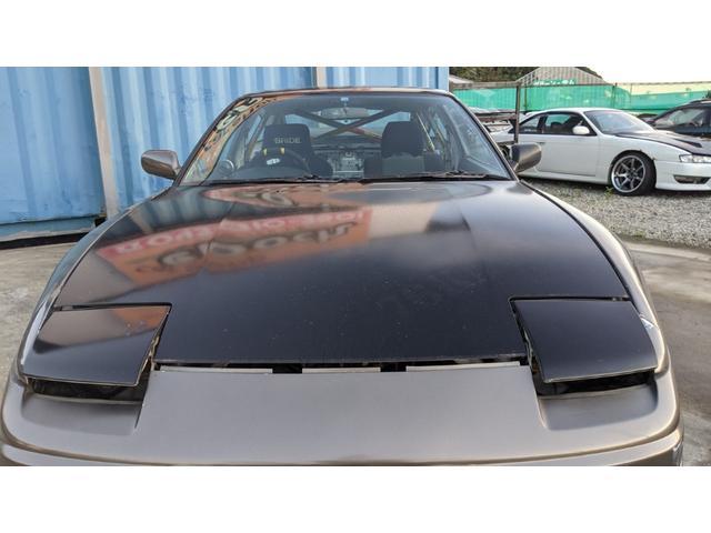 車高調 デフ ワイドフェンダー ロールバー デュアルマフラー 純正エアロ デフィブースト計 強化クラッチ スタンスマジック18インチ S14タービン(2枚目)