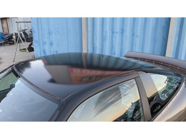 車高調 デフ ワイドフェンダー ロールバー デュアルマフラー 純正エアロ デフィブースト計 強化クラッチ スタンスマジック18インチ S14タービン(35枚目)