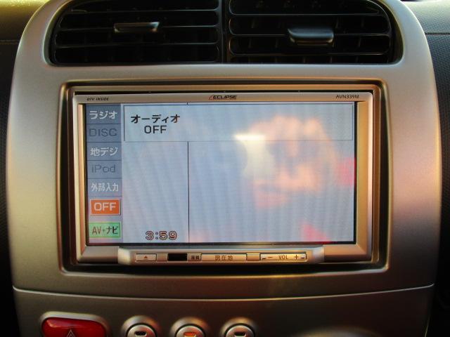 三菱 eKスポーツ X メモリーナビ フルセグ CD DVD HID HID