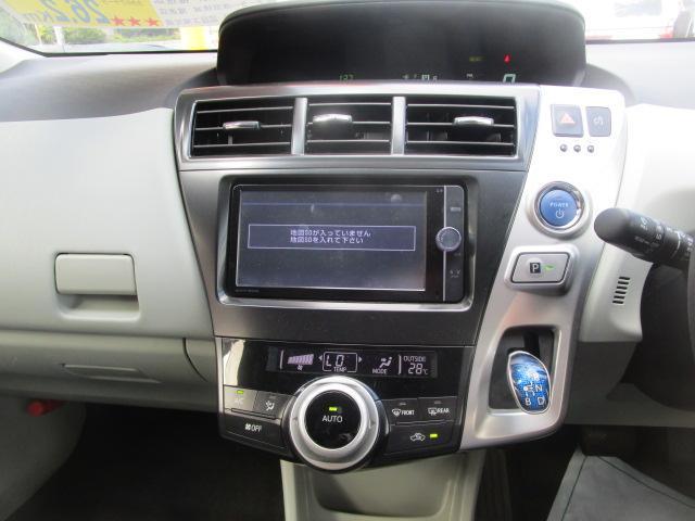 トヨタ プリウスアルファ S SDナビ 地デジ バックカメラ ETC