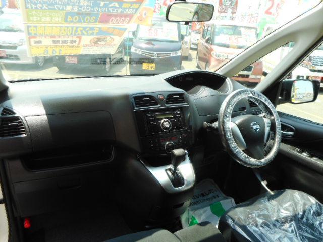 日産 セレナ 20X 片側電動スライドドア CD Wエアバック ABS