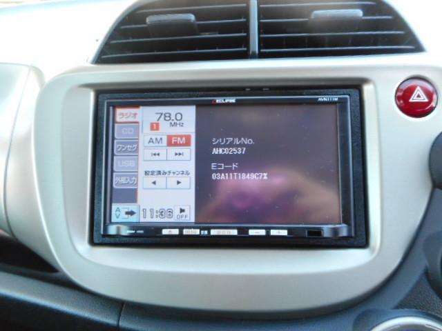 ホンダ フィットハイブリッド ベースグレード ナビ TV CD エアロ ETC キーレス