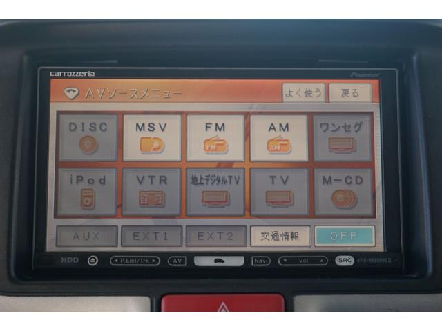 E HDDナビ CD DVD ミュージックサーバー Bモニター スマートキー プッシュスタート 左側パワスラ 衝突防止 電動格納ミラー ワンオーナー HIDヘッドライト フォグライト 純正14インチアルミ(27枚目)