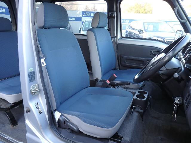 ブルーの明るいシート!